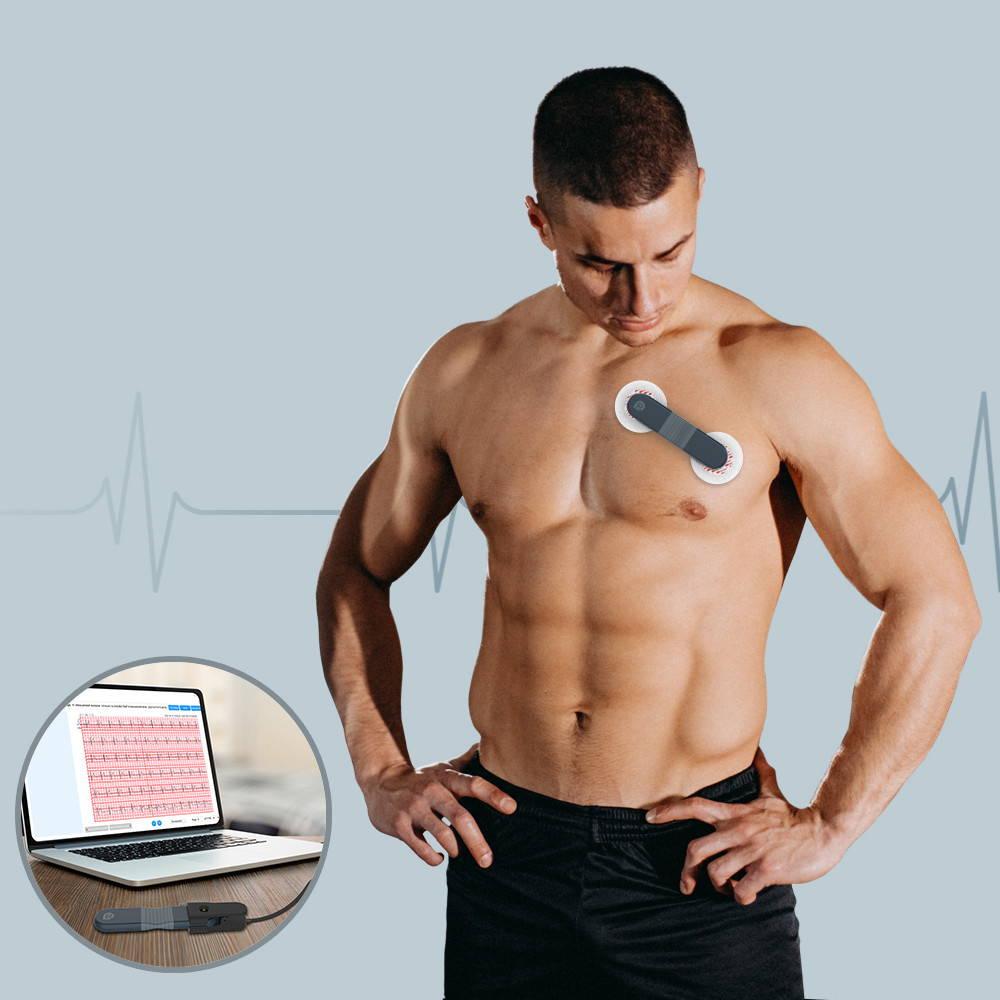 AI 분석 기능이 있는 Wellue ECG 레코더