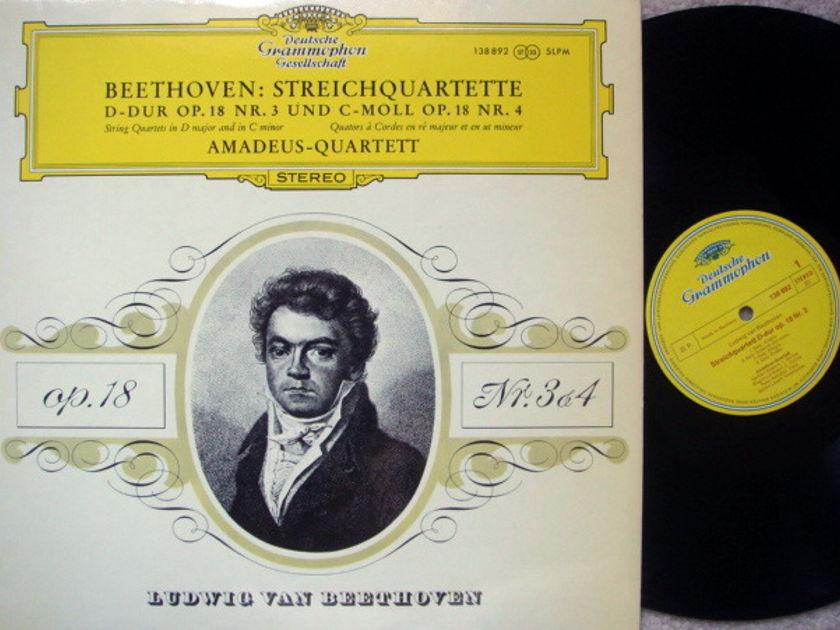 DGG / AMADEUS QT, - Beethoven String Quartets No.3 & 4, MINT!