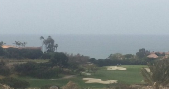 Dana Point is beautiful, even if the weather was early June gloom.