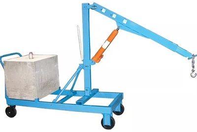 grue avec contrepoids, reversible boom floor crane, muscle mate