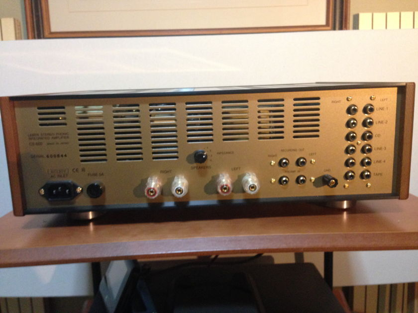 Leben Hi-Fi Stereo Co. CS600 Integrated Amp