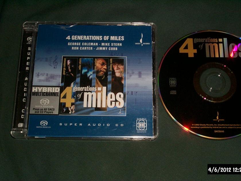 Various - 4 Generations Of Miles SACD Hybrid NM