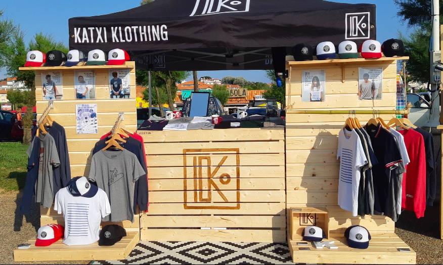 KATXI KLOTHING vêtements basques éco-friendly marchés Pays Basque