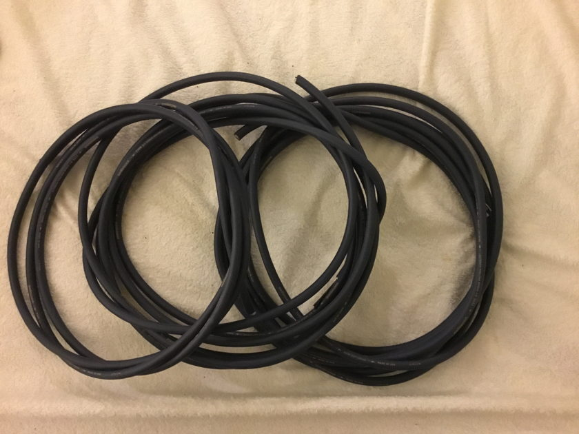 Audioquest Type-4+ Type 4 + 17' pair and 9' single - raw cable