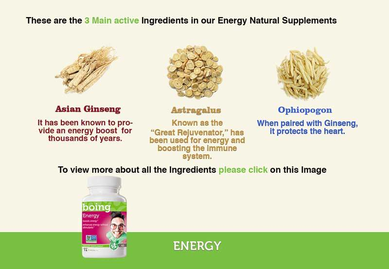 Energy  Ingredients