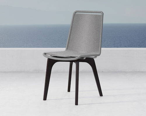 Modloft Laced Outdoor Dining Chair