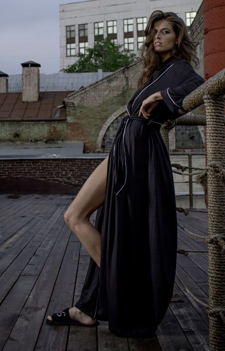 Халат Black Bitch