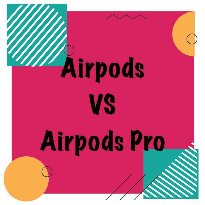 comparativo airpods e airpods pro apple