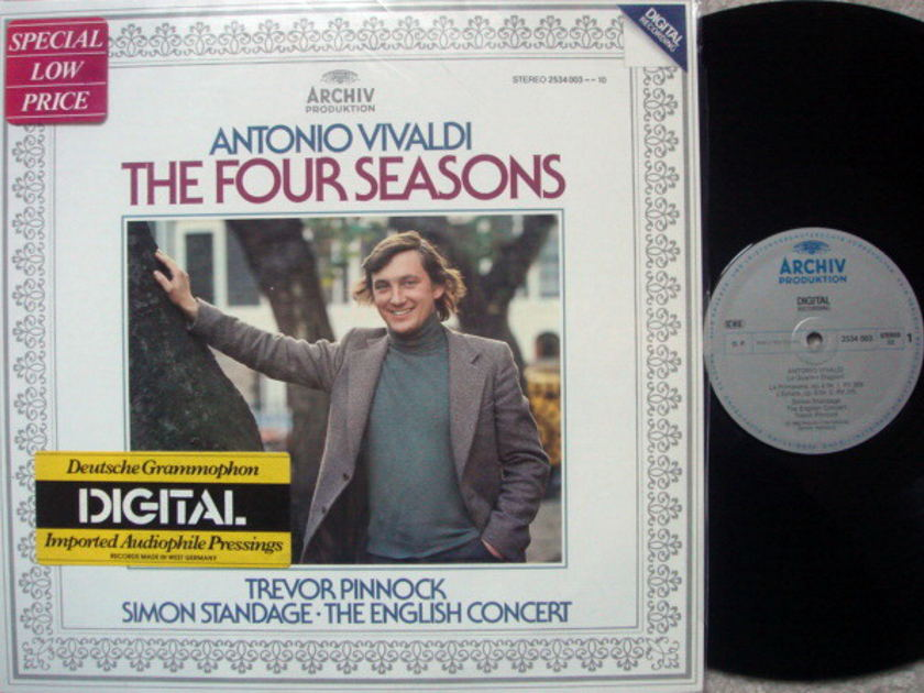 Archiv Digital / PINNOCK, - Vivaldi The Four Seasons, NM!