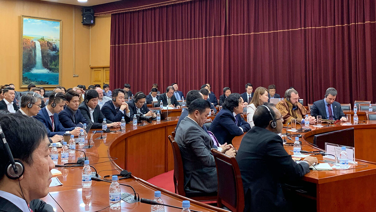 Frontier Fintech summit in Ulaanbaatar