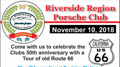 Riverside Region PCA 50th Driving Tour and Lunch