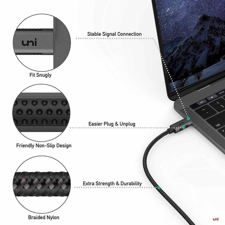 USB-C to HDMI Cable (4K@60Hz) - 3ft / 6ft / 10ft / 15ft, usb type c to hdmi cable, hdmi 2,0 cable, hdmi cable for pas5, hdmi 2.0,  hdmi cable braided nylon