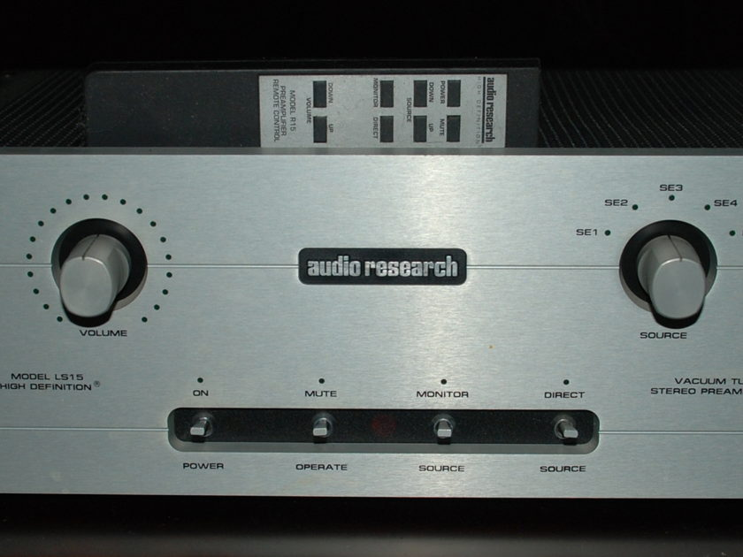 Audio Research LS-15