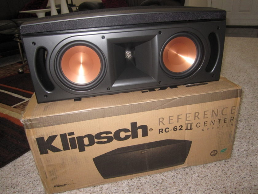 Klipsch  RC 62ii Center Speaker