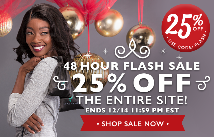 48 Hour Flash Sale 25% Off The Entire Site. Ends 12/15 12AM EST