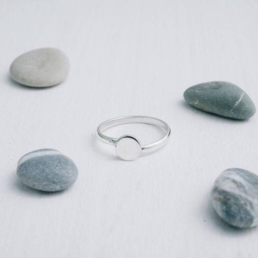 Кольцо кружочек «Геометрия»