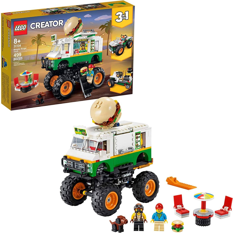 LEGO Creator monster burger truck
