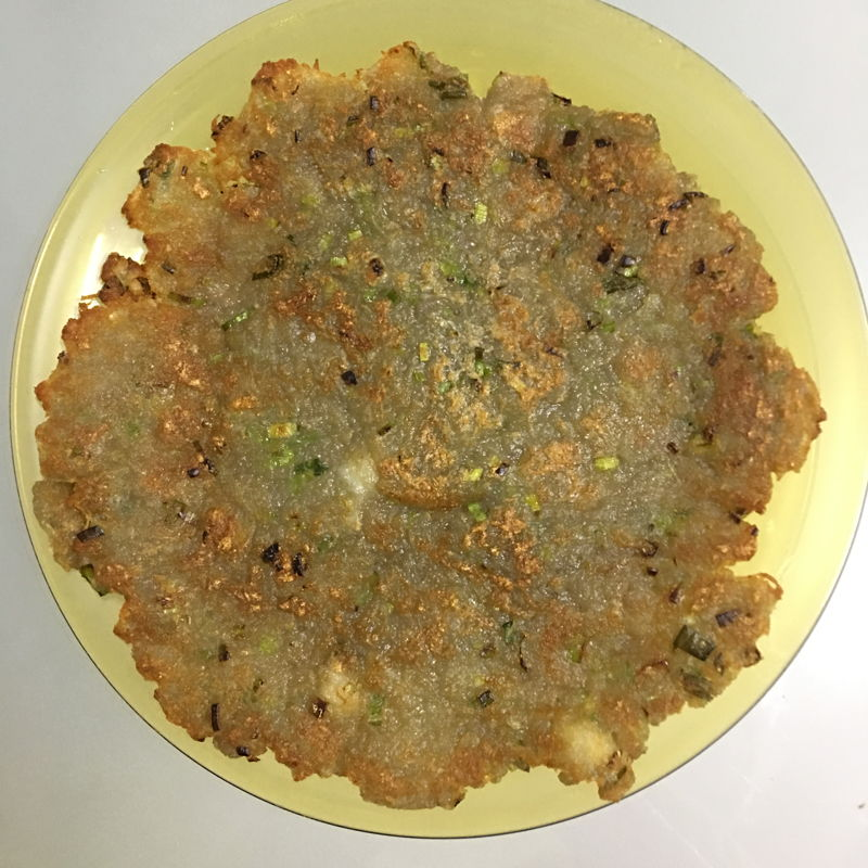 We love potatoes.  Found this potato pancakes (Korean food) recipe. It is soooooooooo simple and yuuuuuuuummy.  Can eat it on its own or dip with chilli sauce. ;))