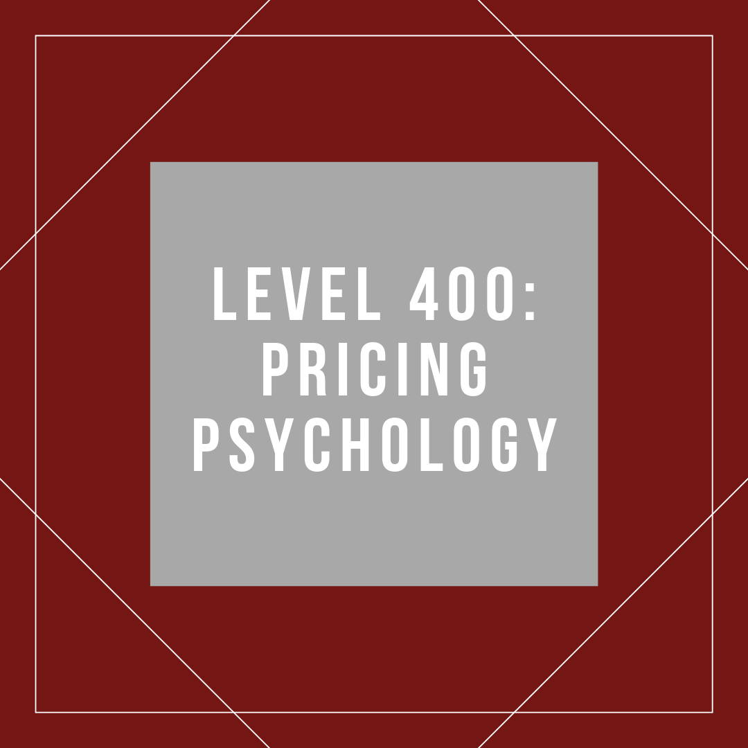 Psychological Aspects Of Pricing