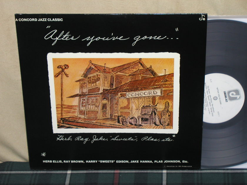 "Ellis/Brown+more - ""After You've Gone"" Concord CJ 6 from 1975!"