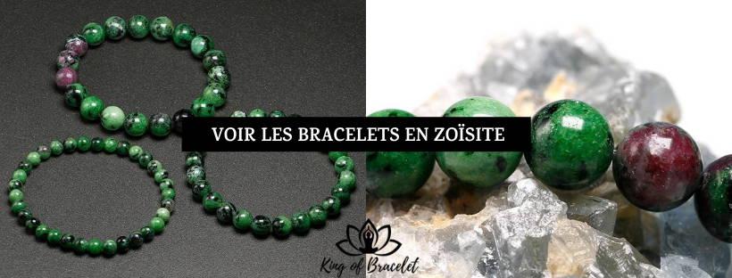 Bracelet en Zoïsite - King of Bracelet