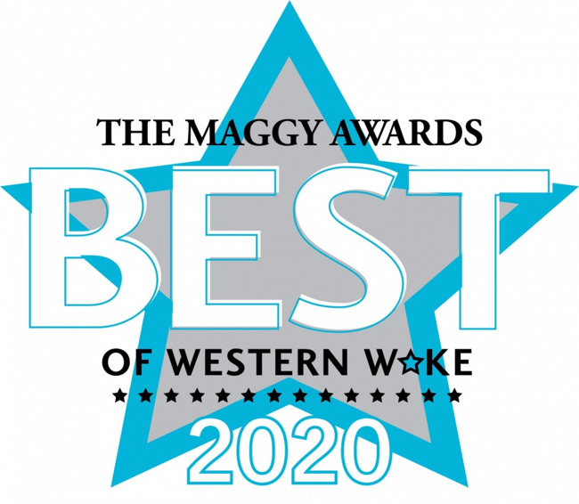 eight prestigious Maggy Awards for Best Preschool in Western Wake