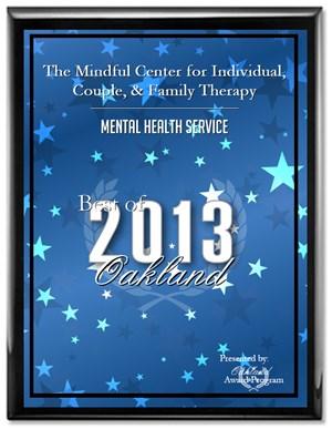 Mental Health Service Award