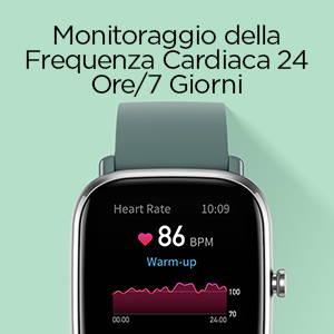 Amazfit GTS 2 mini -Monitoraggio della Frequenza Cardiaca