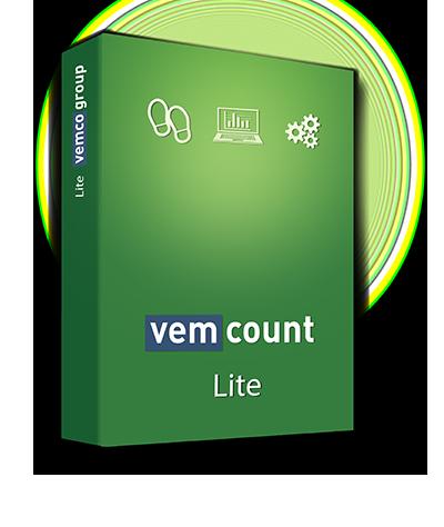Vemcount footfall data analytics Lite software