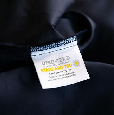 Weavve's Oeko-Tex® Standard 100 Certified logo