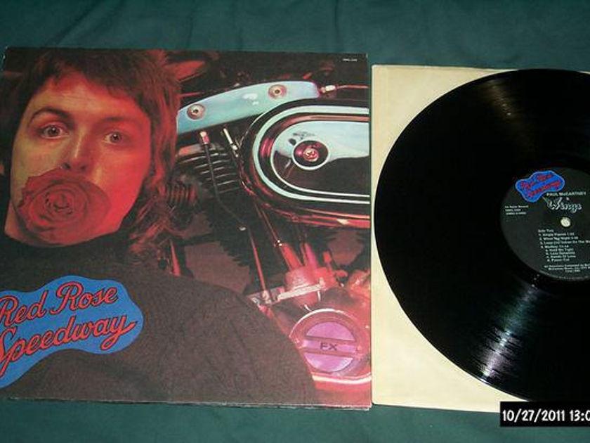 Paul Mccartney/Wings - Red Rose Speedway lp nm rare mispressing