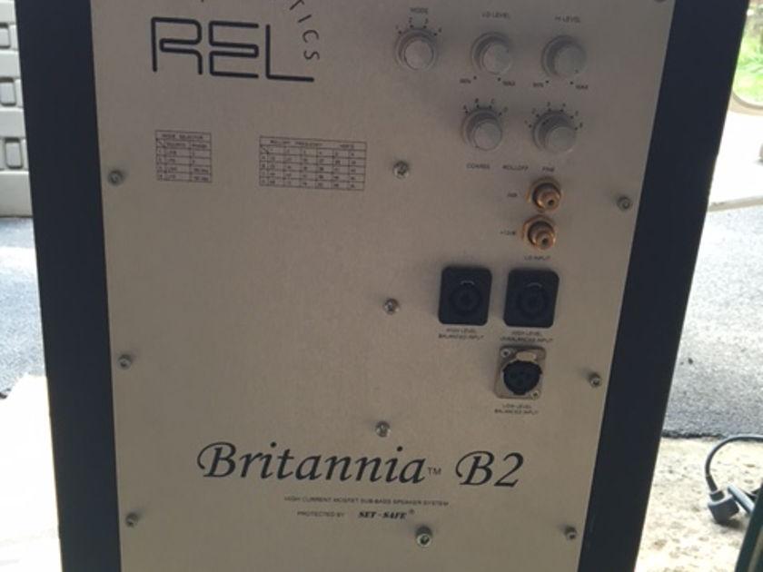 REL Britannia B2 Flat black