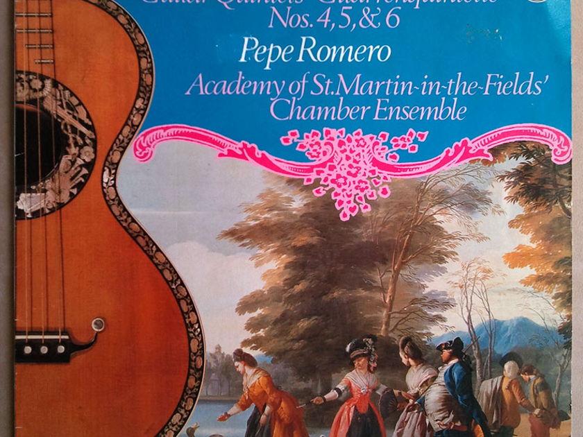PHILIPS | ROMERO/BOCCHERINI - Guitar Quintets Nos. 4, 5, 6 / NM