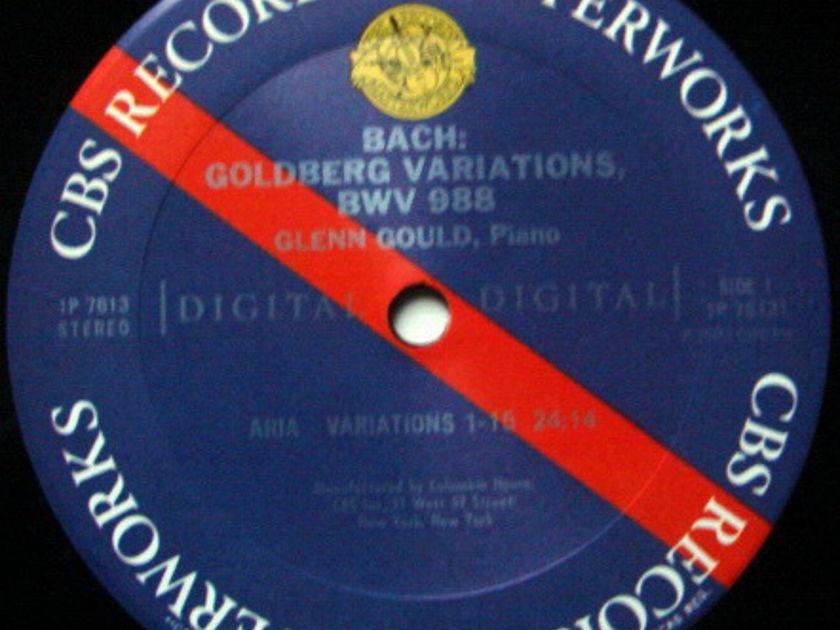 CBS Digital / GLENN GOULD, - Bach Goldberg Variations, MINT!