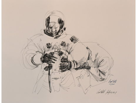 SUITING UP - HISTORICAL PAUL CALLE PRINT