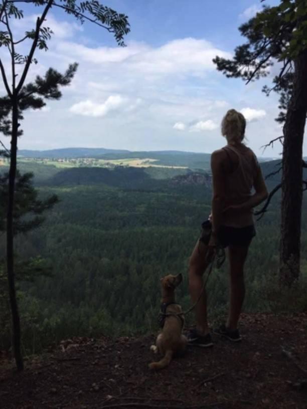 Elbsandsteingebirge und Sächsische Schweiz Wandern mit Hund