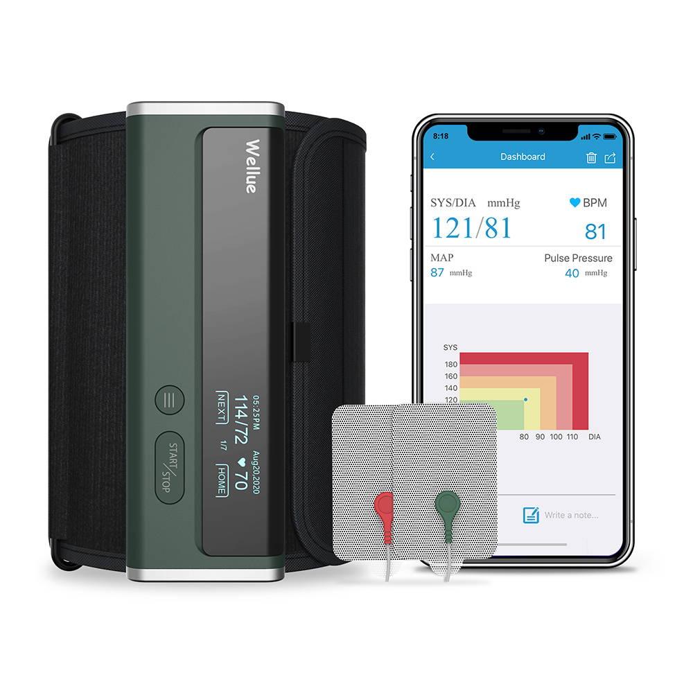 Wellue Portable EKG Monitor with OLED Screen