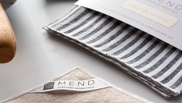 Mend Everyday Essentials Brand & Packaging Design