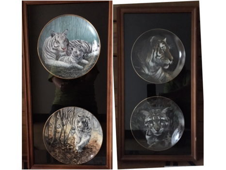 Framed Collectors Plates
