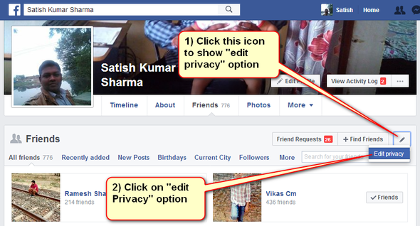 Enable Facebook Followers Count On Your Timeline 4