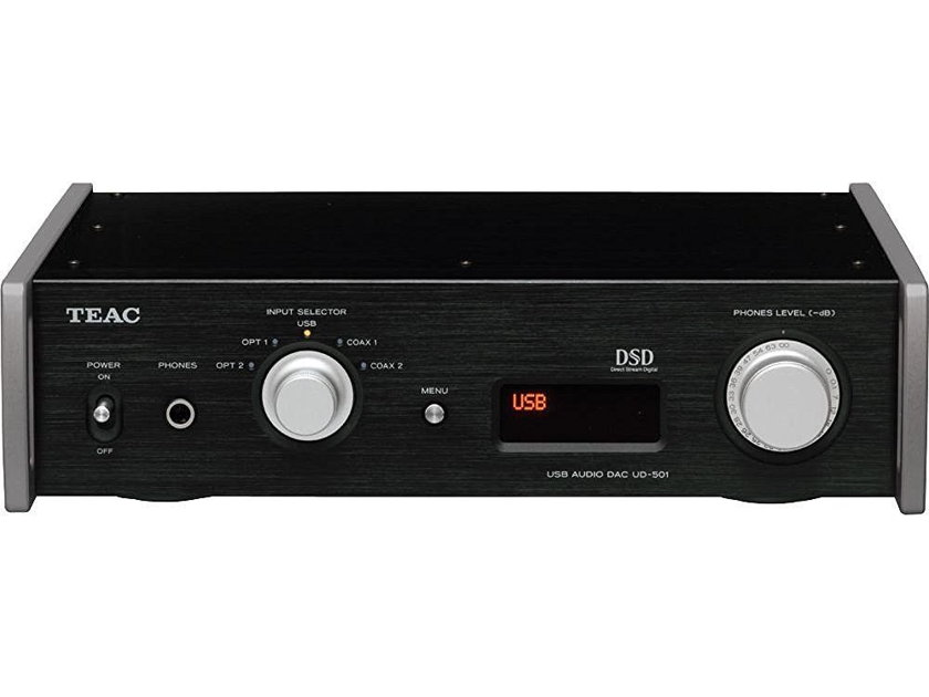 Teac UD-501  Dual Monaural DAC with USB streaming