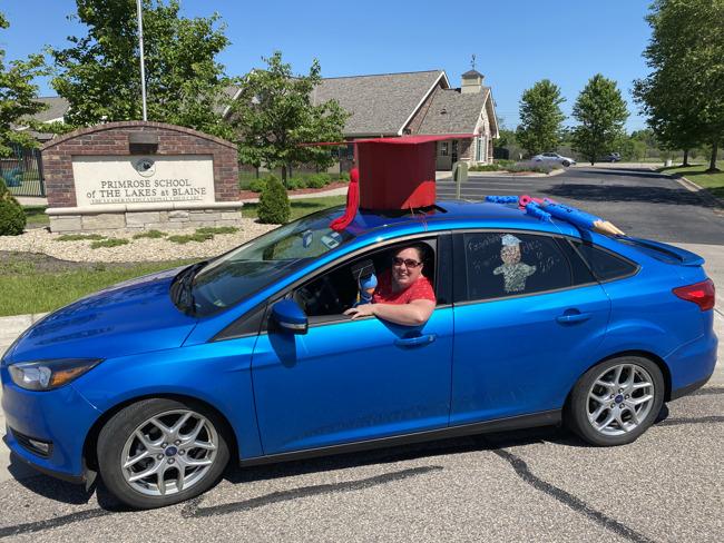 The Blue Car!