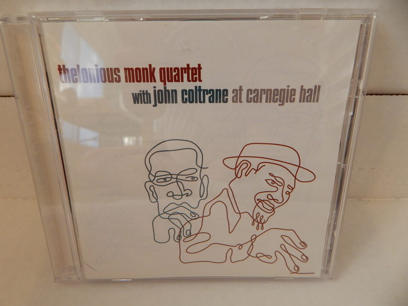 THELONIOUS MONK QUARTET With John Coltrane - at Carnegie Hall  Ahmed Abdul-Malik Shadow Wilson 2005 Blue Note NM CD