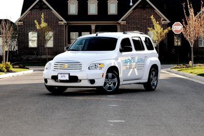 APX Alarm Vehicle Wrap
