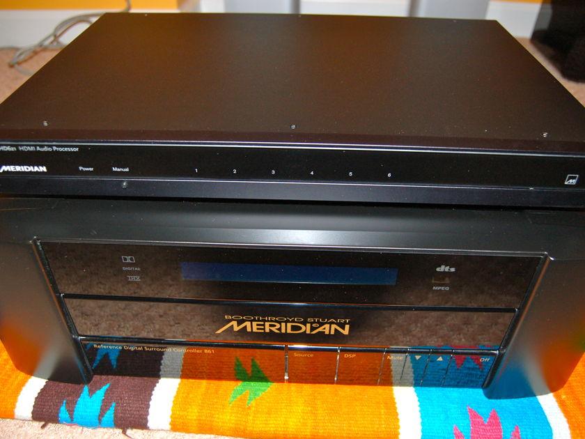 Meridian 861 + 621 861 v4 + HD621 HDMI switcher excellent OBM + remote