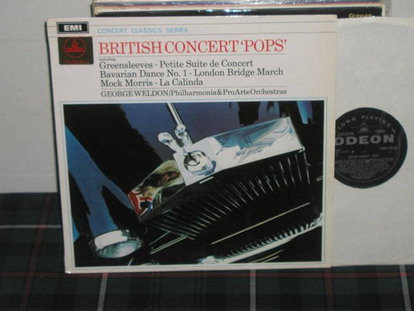 Weldon/P&PAO - Vaughan Williams EMI/UK sxlp 30123