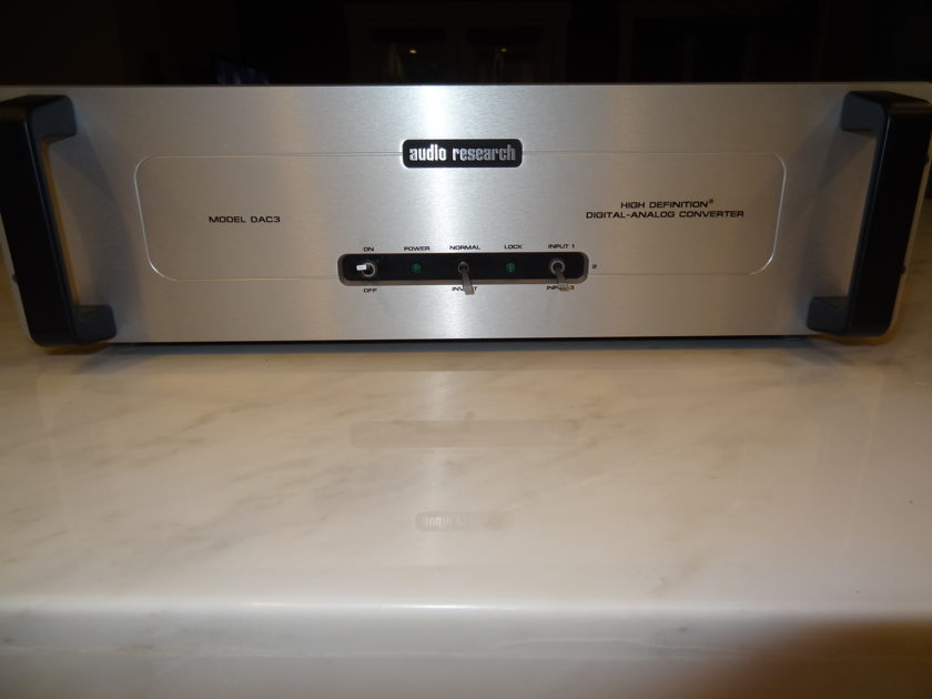 Audio Research DAC 3 Mk I $400 in free tubes !