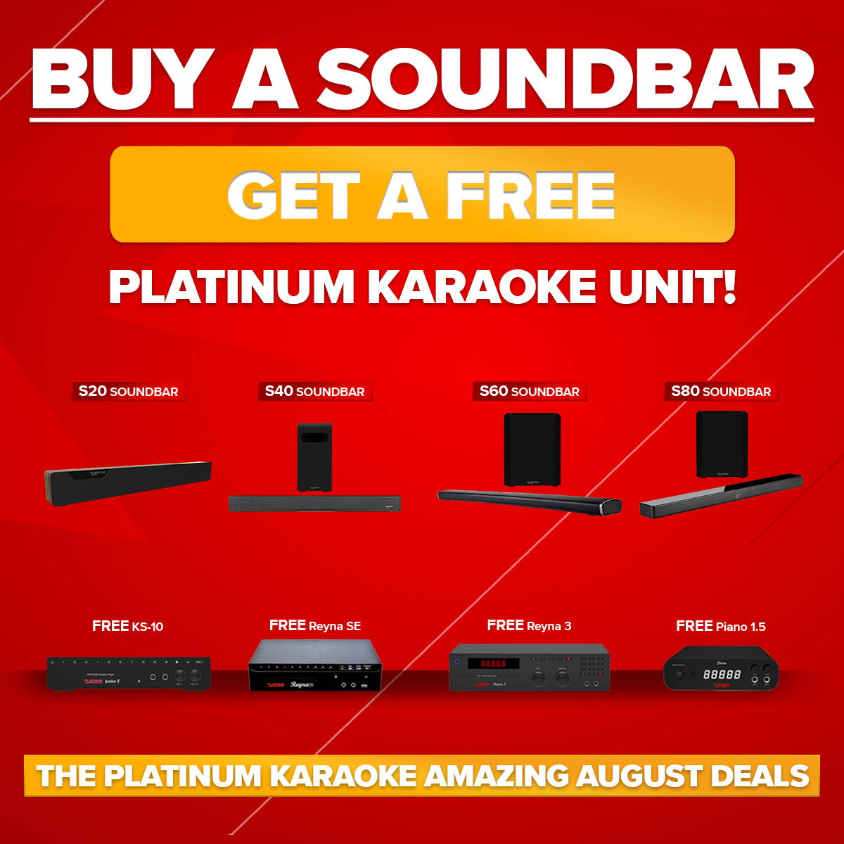 Best Karaoke Machines in the Philippines - Platinum Karaoke
