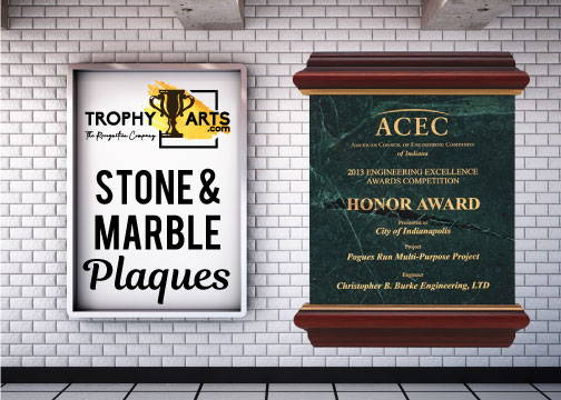 Stone and Marble Plaques
