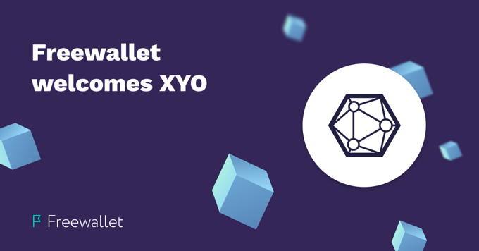 Freewallet welcomes XYO cryptocurrency